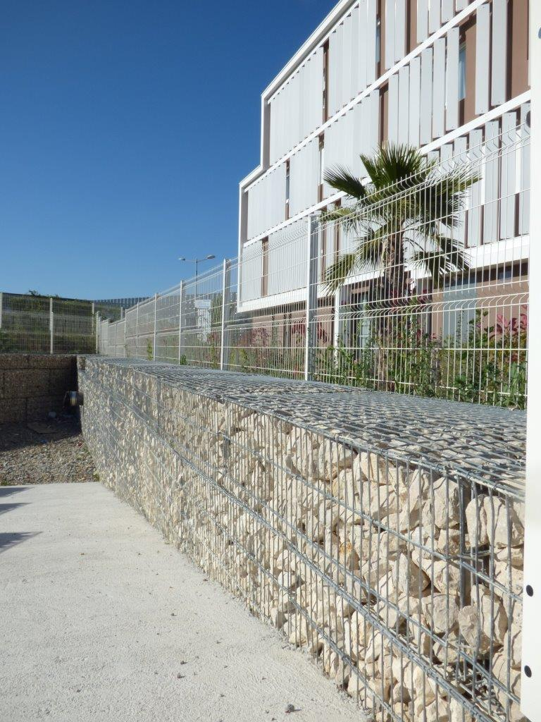 gabion stonebox soutènement baillargues formation setp