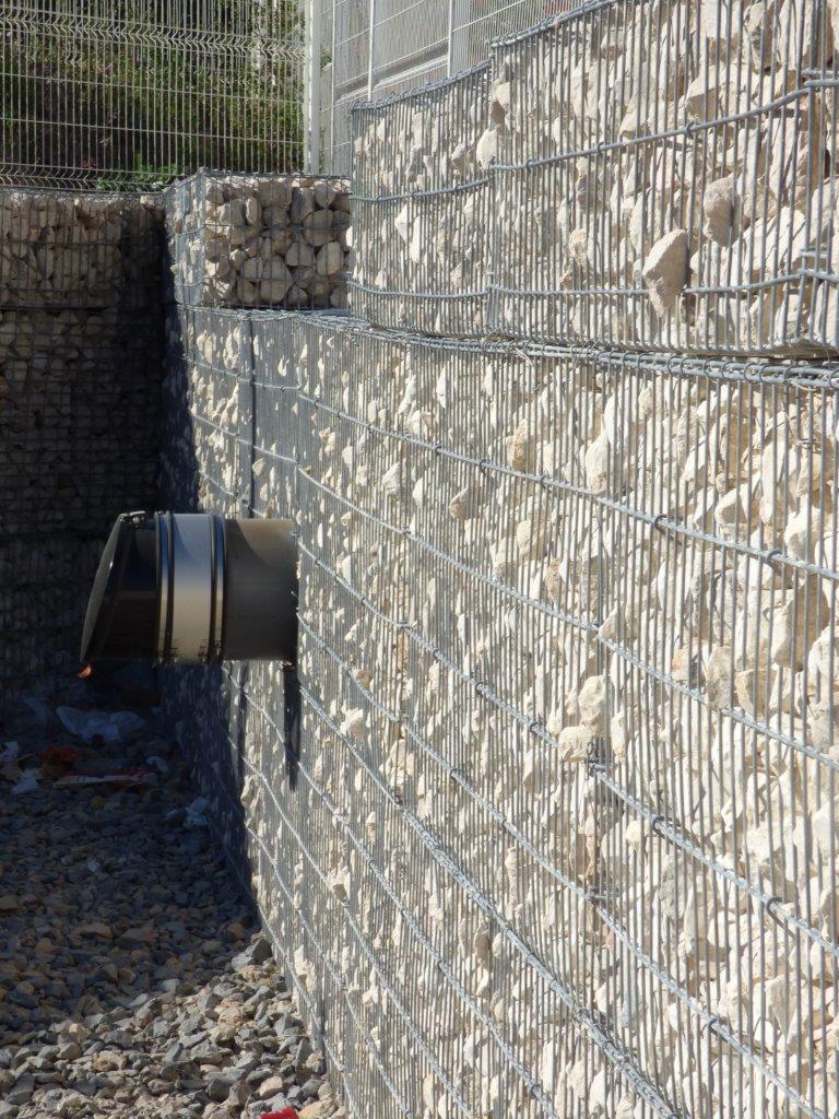 gabion stonebox soutènement tuyau pvc baillargues formation setp
