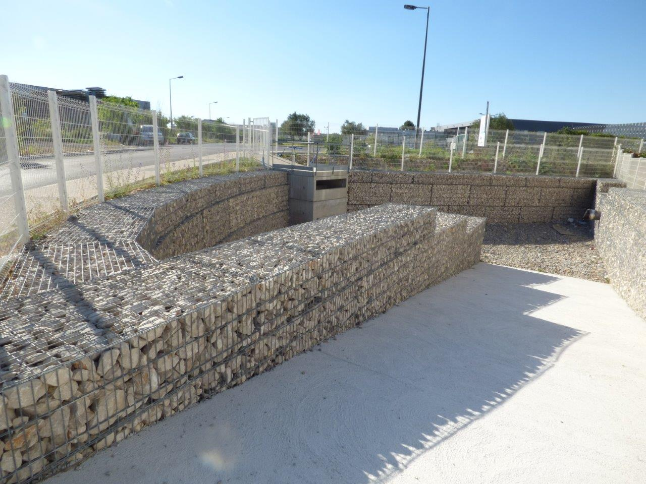 gabion stonebox mur angle descente baillargues formation setp