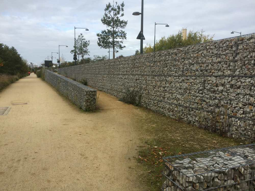 Rennes gabions mobile