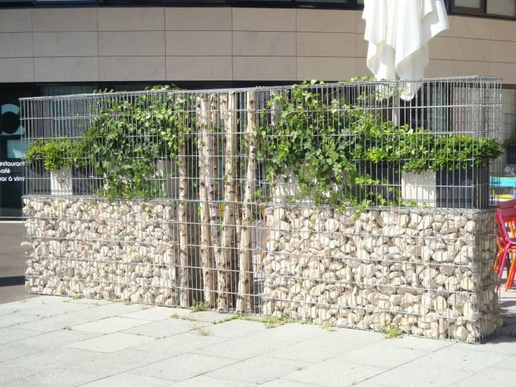 gabions décoratifs