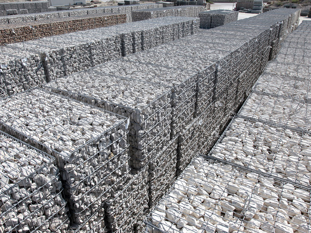 Stock de gabions stonebox