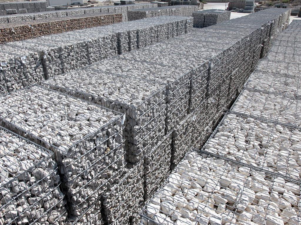 Stock de gabions stonebox