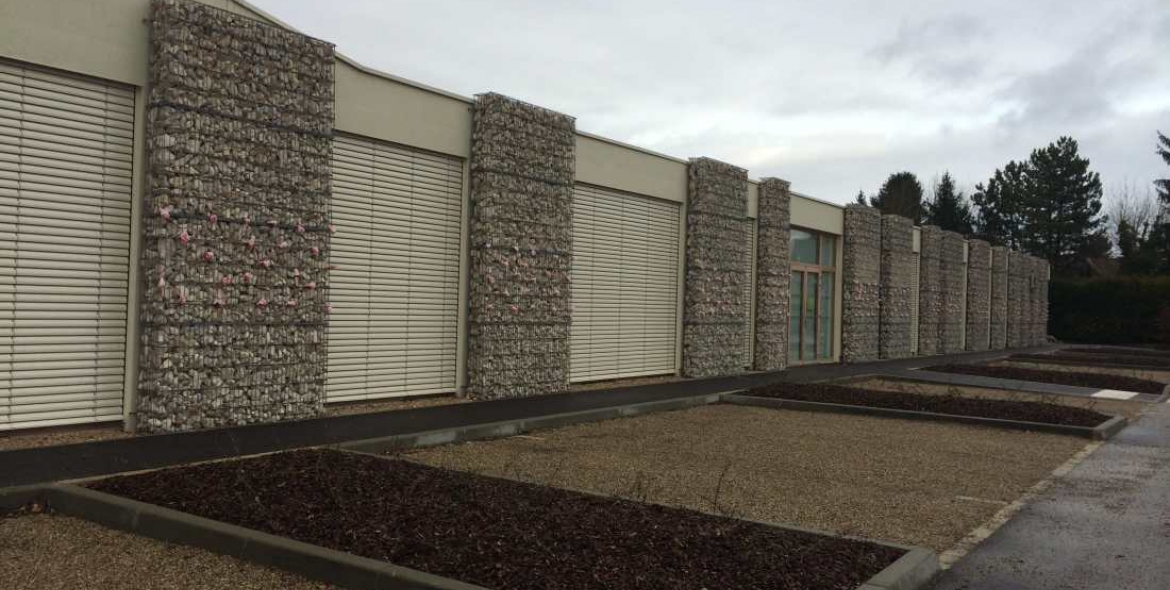 Habillage en gabions STONEBOX®
