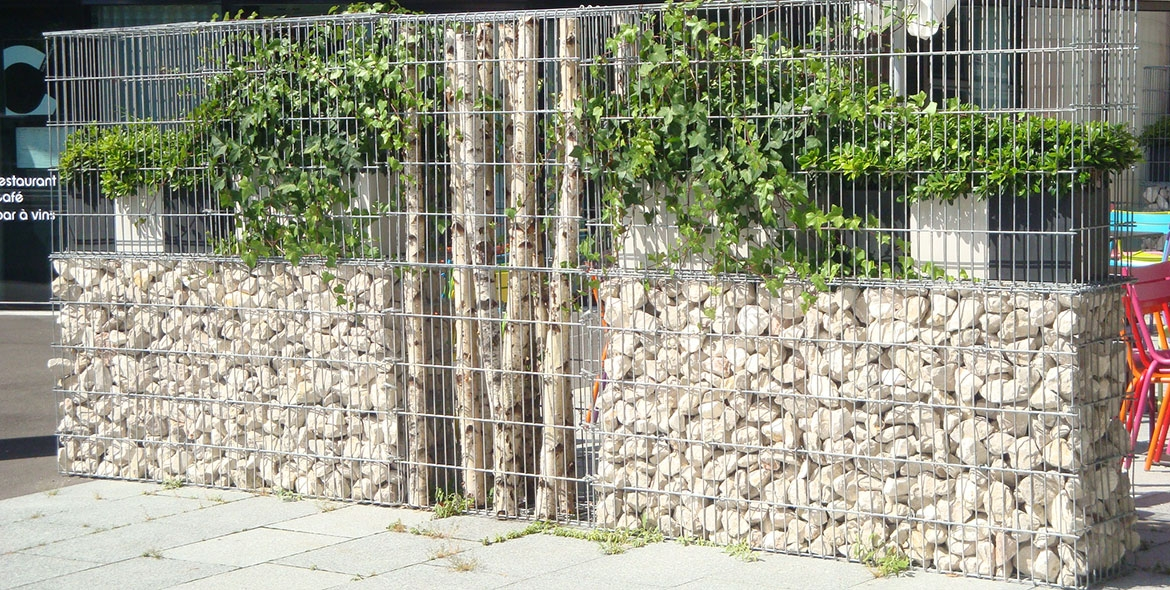 Mur De Cloture Gabions
