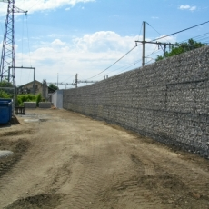 Mur anti bruit gabions STONEBOX®