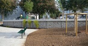 Aménagement d'un parc en Gabions STONEBOX®