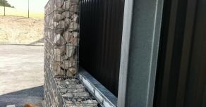 Habillage de façade en gabions STONEBOX®