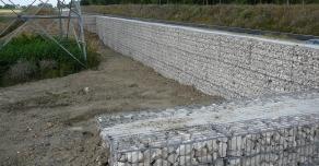 Mur anti-bruit en gabions STONEBOX®
