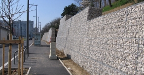 Soutènement en gabion STONEBOX®