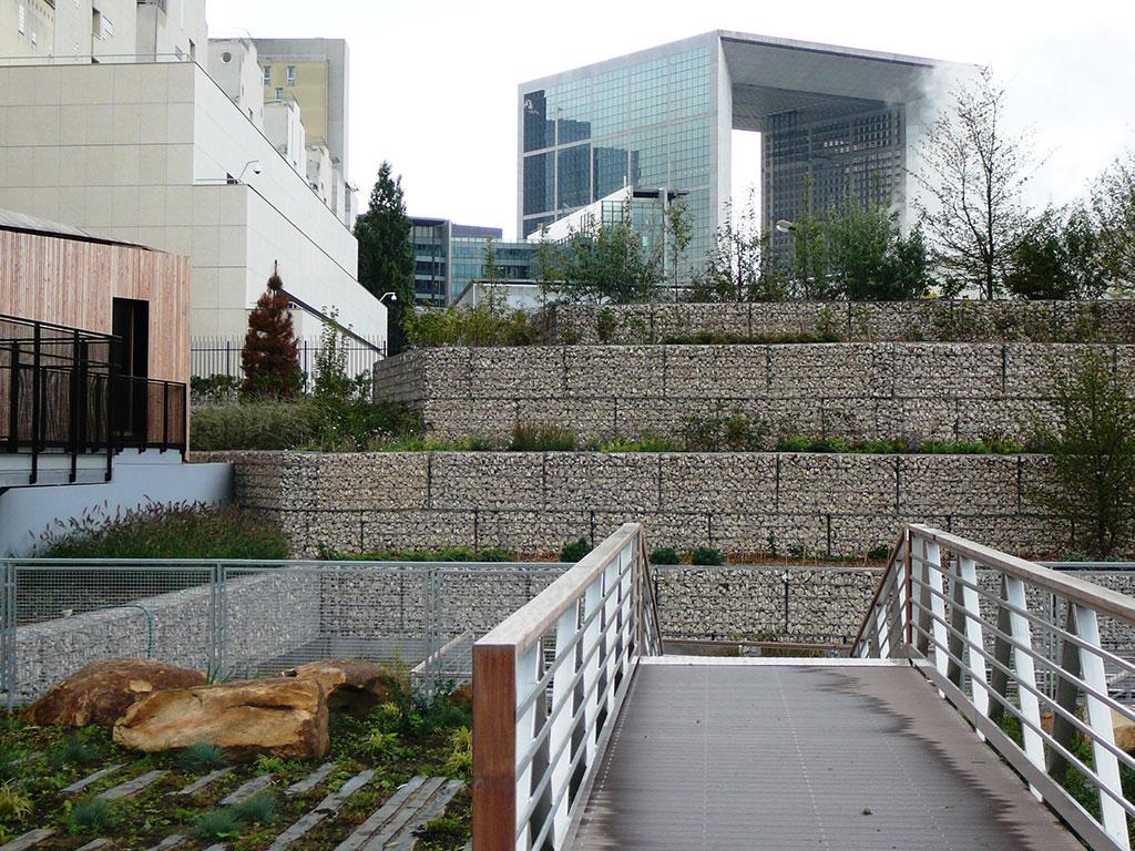 utilisation  de la pierre naturelle en Paysagisme et urbanisme